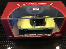 1:43..Maxi Car--Alfa Romeo Spider Duetto 1600-1966  / 3 O 328
