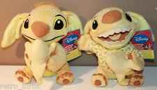 2 x Stitch Cousin Sparky Sega Flavor of the Month Plush Series 5 Banana Medium