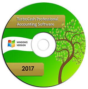 NEW Professional Accounting Software-Turbocash Quick Bk Alternative-Windows CD