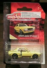 Majorette Vintage Toyota Celica GT Coupe Yellow New on Card