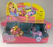 Nickelodeon Sunny Day Style Files Die Cast Style Speeder & Rose Racer