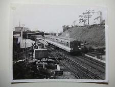 JAP572 - 1965 TEITO ELECTRIC RAILWAY Co ~ TRAIN PHOTO Marunouchi Yotsuya Japan