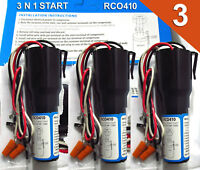 RCO410 RC0410 Start Kit 3 N 1 (3 PACK) 1/4 HP to 1/3 HP