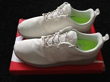 NIKE ROSHE RUN HYPERFUSE UK 9.5 IVORY WHITE BROWN OG FREE LIGHT HUARACHE 10 RUN