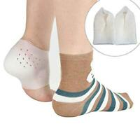 1 Pair Unisex Invisible Height Lifting Increase Silicone Foot Pads Socks Insoles