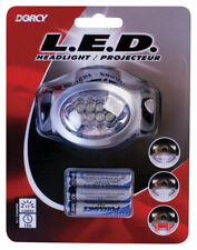 Dorcy  17 lumens Black  LED  Headlight  AAA Battery