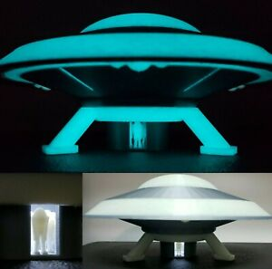 UFO 1B-LARGE(GlowInDark w/Light)inspired by Earth vs the Flying Saucers/27th Day