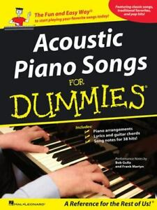 Acoustic Piano Songs for Dummies, , Good Books