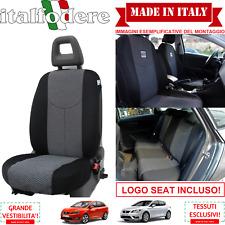 SET COPRISEDILI Adattabili SEAT IBIZA/LEON/ALTEA Fodera Fodere Foderine Grigio37