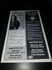 Jim Jamison/Northern Pikes Rare Original Radio Promo Poster Ad Framed!