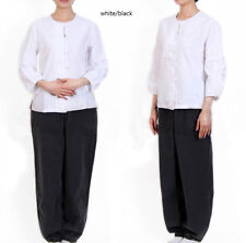 women 100% cotton shirt pants  Zen meditation clothing, yoga clothes