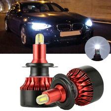 Car 8-sides H7 2000W 320000LM 3D LED Headlight Kit High or Lo Light Bulb 6000K