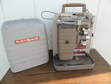 Vintage Bell And Howell Model 253A 8 mm Movie Projector. Needs power chord