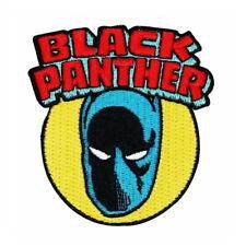 1 Écusson Brodé Thermocollant NEUF ( Patch ) - Wakanda Black Panther ( Ref 2 )