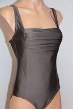 NWT Calvin Klein Swimsuit Bikini one 1 piece Size 14 metallic Bronze