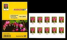 Folienblatt FB 33**, Blumen - Tränendes Herz, 2013 -  10 x 3034 postfrisch