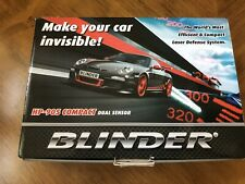 2020 BLINDER HP-905 LATEST COMPACT DUAL SENSOR RADAR LASER DETECTOR HP905 HP 90