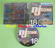 CD DJ ZONE 18 HOUSE SESSION 08 compilation 2006 MIC-LINE TALL & SMALL (C29)
