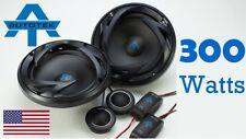 """Autotek ATS65C 6.5"""" 17cm Car Audio Speakers 250w Component Two Way 1 pair"""