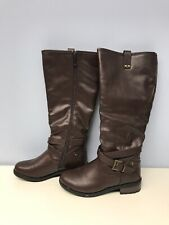 Dream Pairs Women Knee High Winter Boots Brown Size 7
