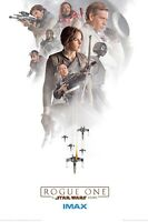 "STAR WARS: ROGUE ONE - MOVIE POSTER COLLECTORS PRINT (SIZE: 11""x17"")IMAX REPRINT"