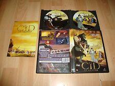 EL CID LA LEYENDA PELICULA DE ANIMACION EN DVD CON 2 DISCOS + LIBRETO BUEN ESTAD