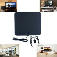 50 Miles Amplified Active Indoor HD Digital TV Antenna Aerial 25DB Gain HDTV New