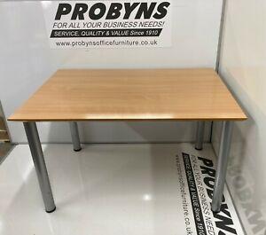 1200mm x 800mm 4 leg table in BEECH