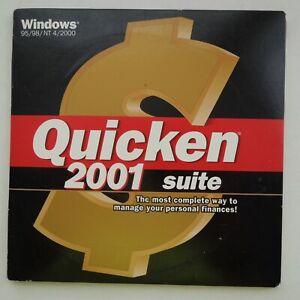 Quicken Suite 2001 - Quicken Deluxe & Quicken Family Lawyer - Windows 95/98/2000