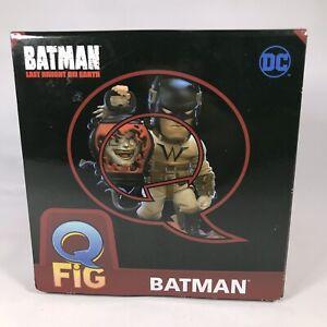 BOX DAMAGE- DC Comics Batman Last Knight On Earth Q-Fig Elite Figure NEW See Pic