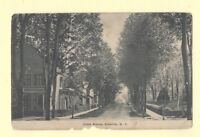 NY Ellenville 1908-15 postcard HOMES ON CIRCLE AVE New York