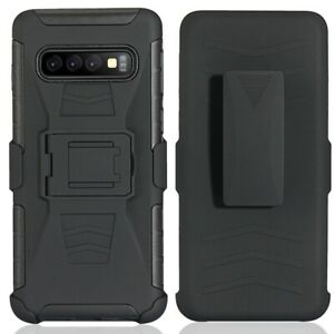Armor Case Cases Belt Clip Back Cover For Samsung S20 S6S7 S8 S9 S10 Note 8 9 10