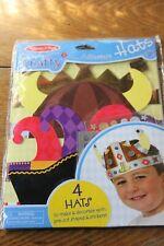 Melissa & Doug Simply Crafty Kids Adventure Hats Diy Craft Kit Ages 4+