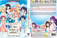 ANIME DVD Is The Order A Rabbit?Dear My Sister(The Movie)Eng sub + With GIFT