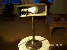 Antique Desk Lamp Bryant Cast Iron Adjustable With Plastic Bryant Light Switch