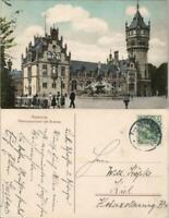 Ansichtskarte Hannover Flusswasserkunst mit Brunnen Stadtteilansicht 1908