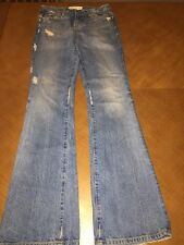Paper denim & cloth Vintage Michael ripped torn light wash jeans size 24
