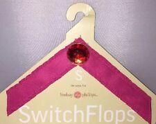 New Pink & Jewel Switch Flops Lindsey Phillips Size S 5-6 Maureen Design