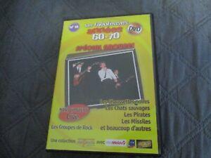 """DVD """"SPECIAL GROUPES"""" Les Chats Sauvages, Les Chaussettes Noires, Les Pirates, ."""