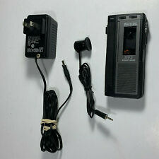 Philips 593 Micro Voice Activated Pocket Voice Recorder Dictaphone Tested Works