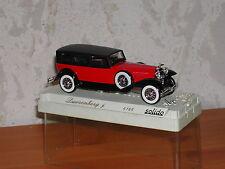 SOLIDO Miniature Dusenberg J berline au 1/43