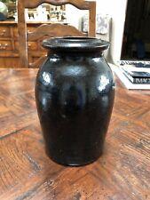 "Antique 7"" Stoneware Jar - Great Condition"