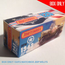 Matchbox Jeep Diecast Cars, Trucks & Vans
