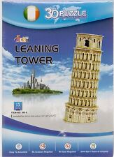 3D Jigsaw Puzzle LEANING TOWER OF PISA Italy Architecture Model 13pcs UK