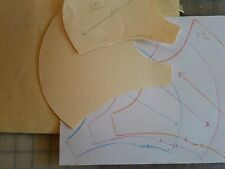 Sewing Pattern for Face Mask paper pattern Sizes