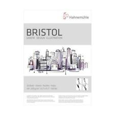 Carton bristol 250gms Blanc Plat carte Pad A4 à A2 Made in UK by Vesey Galerie