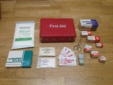 Vintage 1970s-80s Boots First Aid Kit Box Camping Travel - TV Theatre prop