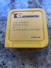 Kennametal CR # 036504 Grade K701 Stainless Suction/Discharge Pump Valve Seat