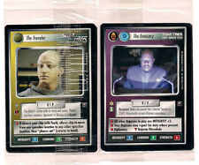 Star Trek CCG TRAVELER AND EMMISSARY 2 CARD PROMO CARD SEALED PACK