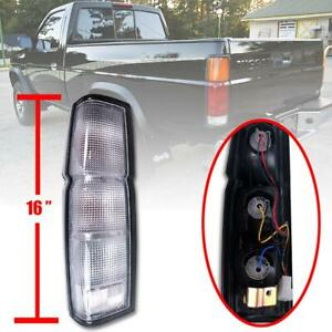 CLEAR TAIL REAR LIGHT HOUSING US Model LH For 86-96 Nissan D21 Frontier Navara